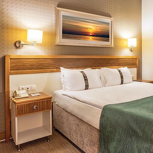 Fancy hotel suite